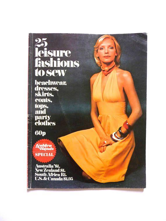 Golden Hands Vintage Magazine Book