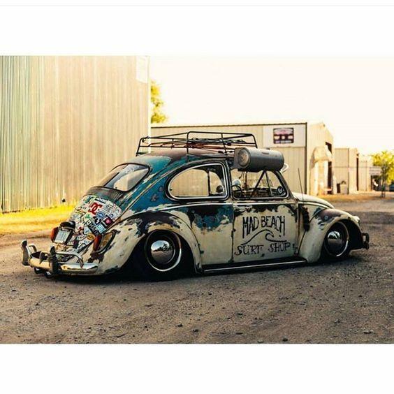 "malautomat:   "" MAD BEACH - SURF SHOP"" BUG - Detroit Old Volks."
