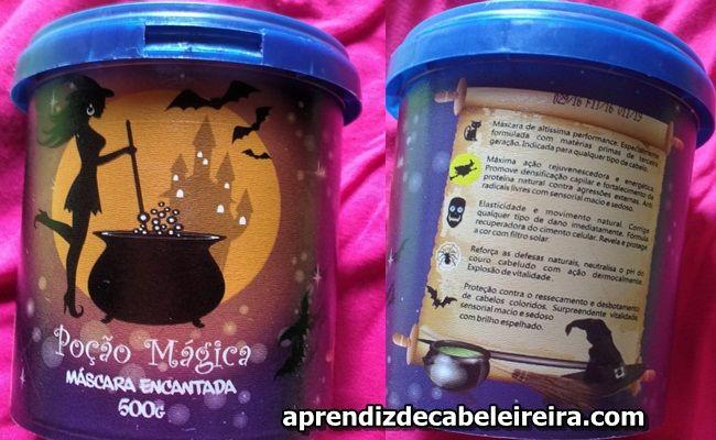 MÁSCARA POÇÃO MÁGICA DA PROBELLE - Resenha, Saiba Tudo http://www.aprendizdecabeleireira.com/2016/12/mascara-pocao-magica-da-probelle.html