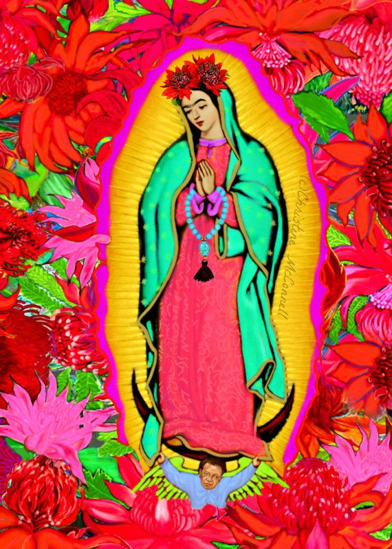 Our Lady Guadalupe Frida Kahlo | artdecadence