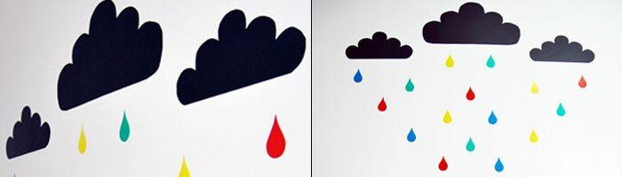 Crea vinilo personalizado para tus paredes. Fuente: decoideas.net #MWMaterialsWorld #ManualidadesNiños #ManualidadesVinilo #DecoraciónNiños