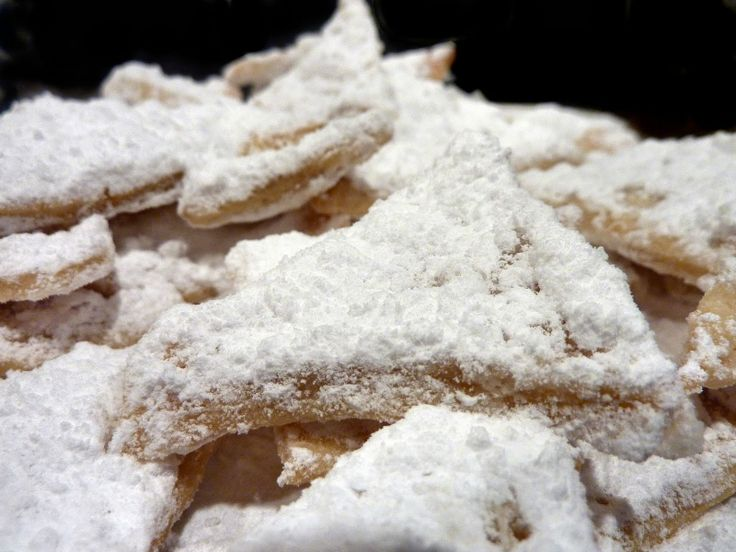 Listy Czech Triangle Shaped Fried Cookies Coated In