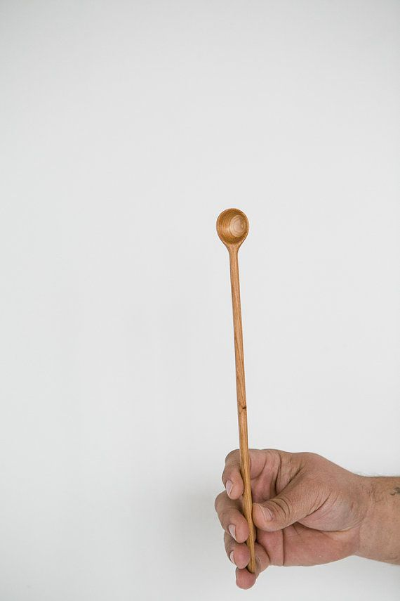 Quot hand carved maple wood spoon sugar