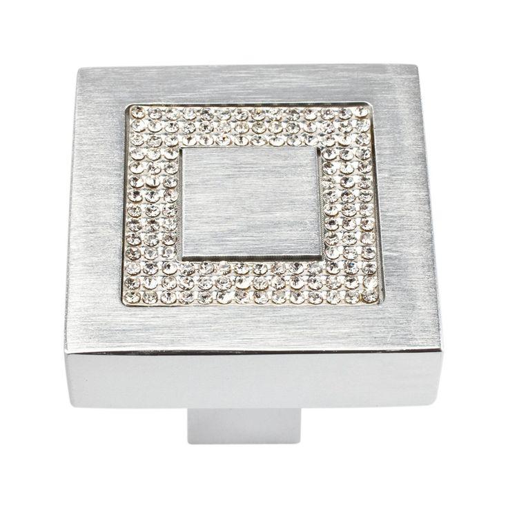 Shop Atlas Homewares  3192 Boutique Crystal Collection Inset Crystal Knob at ATG…