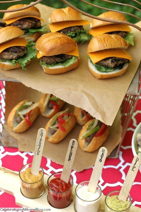 Our Last Minute Summer Cookout + Recipes — Celebrations at Home #summer  #food #recipes