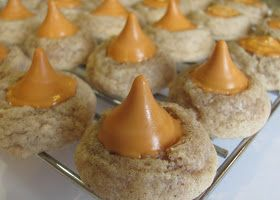 Sprinkle Some Sunshine!: pumpkin spice kiss cookie party!
