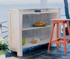Beach house outdoor bar