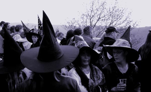 In Germany, Walpurgisnacht, the night from April 30 to May 1, is the night when allegedly the witches hold a large celebration on the Blocksberg and await the arrival of Spring.
