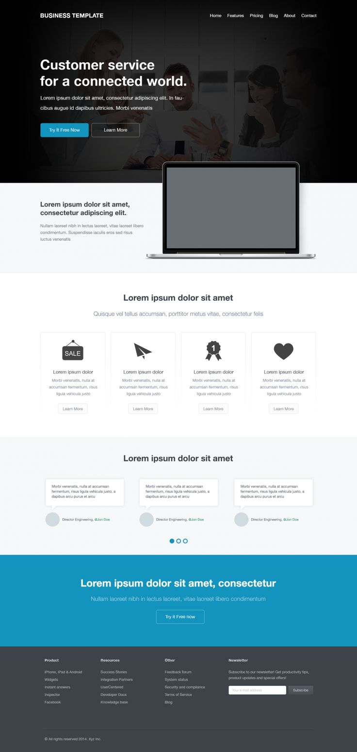 25 best ideas about corporate website templates on pinterest