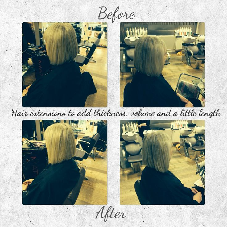 This set of extensions were to get additional thickness and volume to the sides. This clients hair is fine around the front and never got the volume she was after. Hair by Hayley