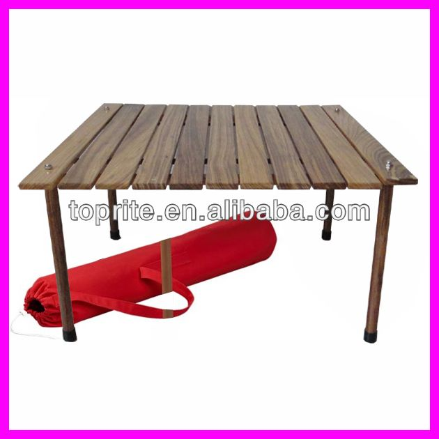 Portable Picnic Tables Folding Camping Table In Bag/wooden Table In Bag On  Sale $22