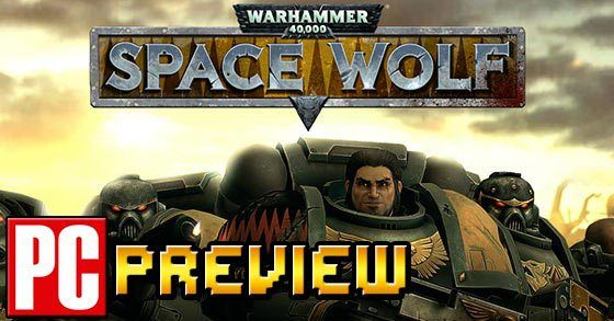 Warhammer 40K: Space Wolf PC preview (Early Access)  A rather good turn-based strategy trading card game