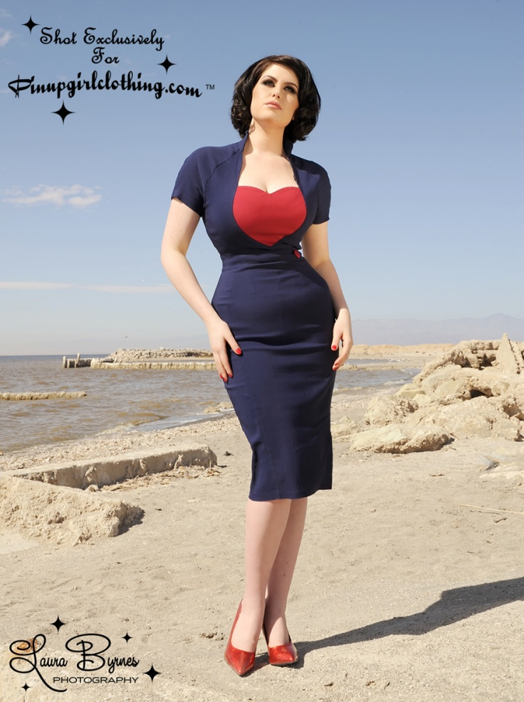 Cute!: Style, Clothing, Dresses, Pinup Girls, Navy, Pinup Couture, Pin Up, Red Hearts
