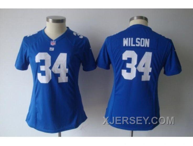 http://www.xjersey.com/nike-women-new-york-giants-34-wilson-blue-jerseys-for-sale.html NIKE WOMEN NEW YORK GIANTS #34 WILSON BLUE JERSEYS FOR SALE Only $38.00 , Free Shipping!