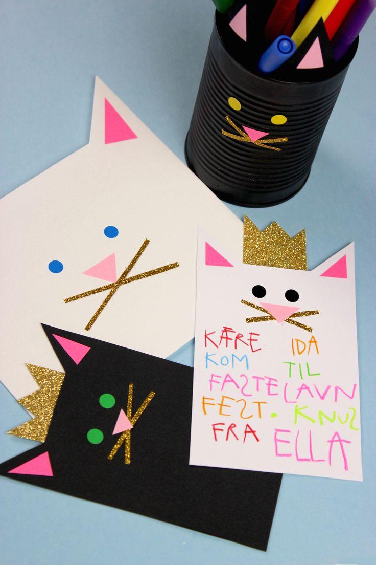 Katzen-Einladung – eva