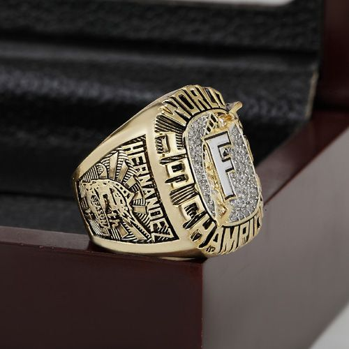 Solid 1997 FLORIDA MARLINS MLB World Series Championship Ring Size 10-13 With High Quality Wooden Box Best Fans Gift