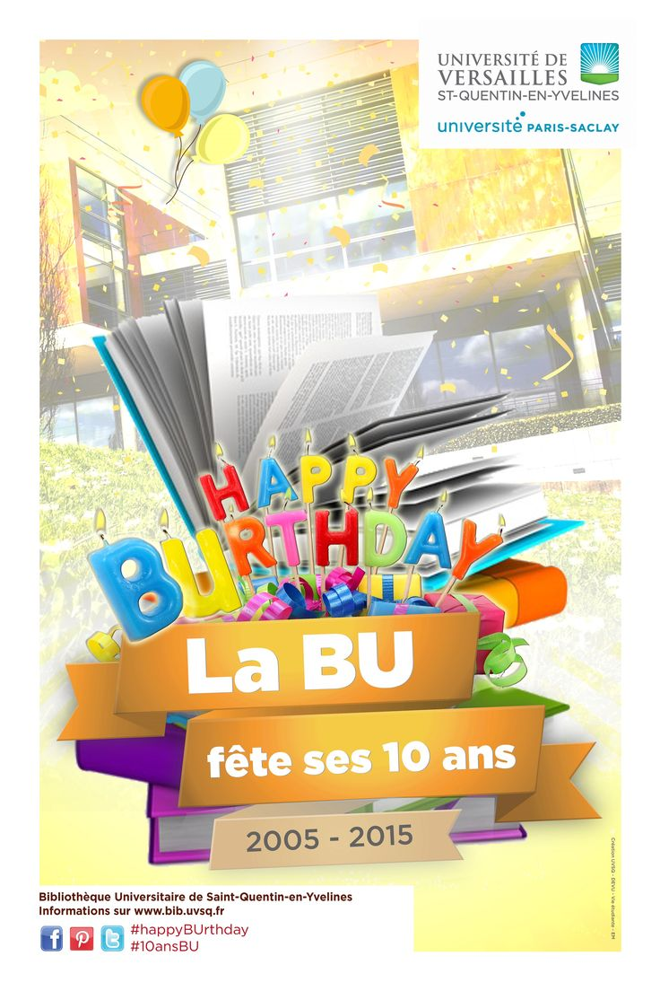 Les 10 ans de la BU de St Quentin en Yvelines