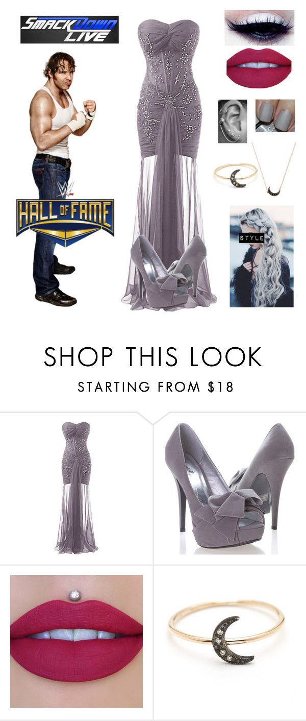"""Hall of Fame~Dean Ambrose"" by queenreigns-916 ❤ liked on Polyvore featuring WWE, Qupid, Nails Inc. and Andrea Fohrman"