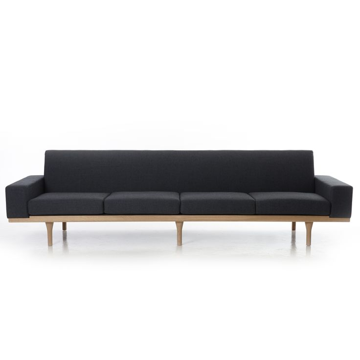 The Australia Sofa Four Seater. Illum Wikkelso exclusive to Great Dane.