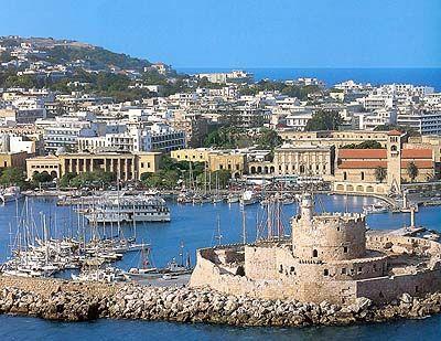 Rhodes, Greece. Many memories..dear friends...
