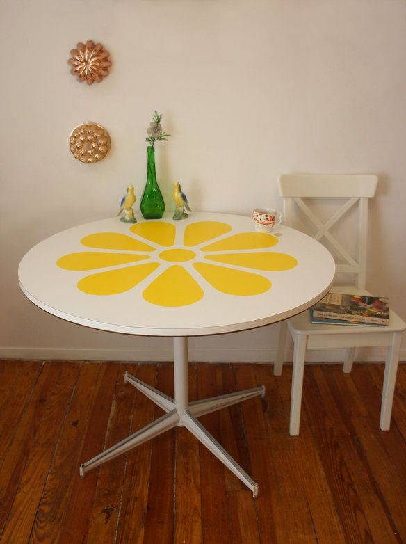 style table table krrb 1960 s yellow usa 1960 s knoll style kitchen