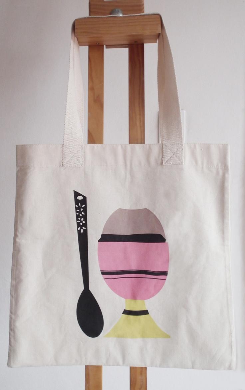 Egg Tote bag - 64 x 44 cm