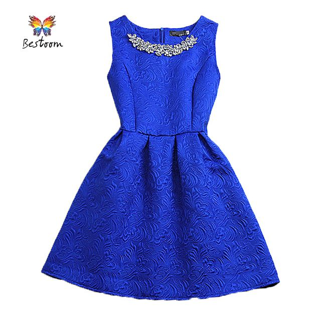 Women Dress Casual Vestidos De Fiesta 2015 Summer Style Vintage Cocktail Cute Short Party Dress Elegant Black White Pink Blue  US $17.80-19.54 /piece  To Buy or Clayey Other Models Click On This Link  http://goo.gl/OCfUcW