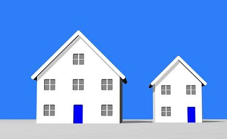 Climbing back down the property ladder: Downsizing can release money, but can also prove a pain if you don't think of the practicalities.