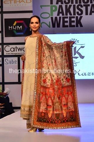 Bunto Kazmi collection at Pakistan Fashion Week 2012(FPW3)