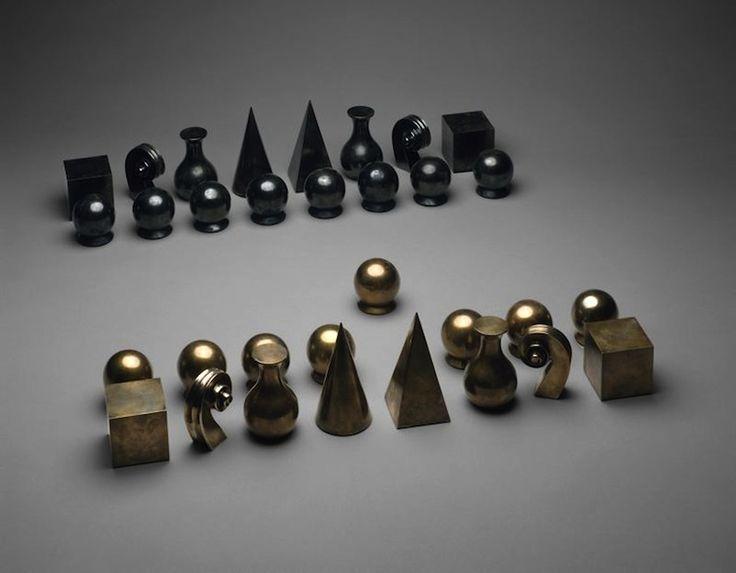 Chess set, 1927