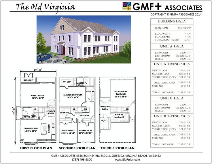 17 best images about multifamily duplex condo design plans on pinterest house plans models - Best duplex house plans space for the whole family ...