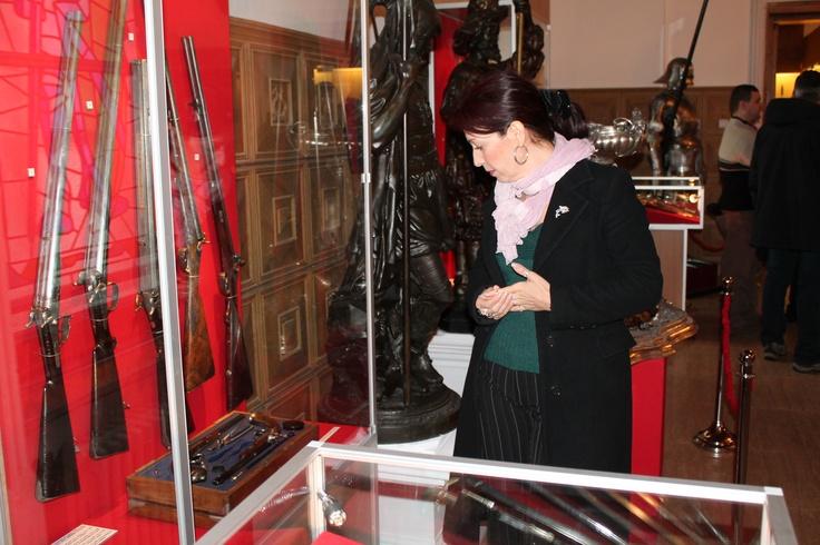 Expoziţie de arme de vânătoare la Muzeul Militar Naţional