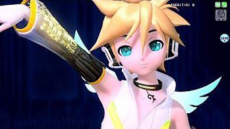 [60fps Rin Len Full] Electric Angel えれくとりっく・えんじぇぅ - Kagamine Rin Len 鏡音リンレン DIVA English romaji PDA - YouTube