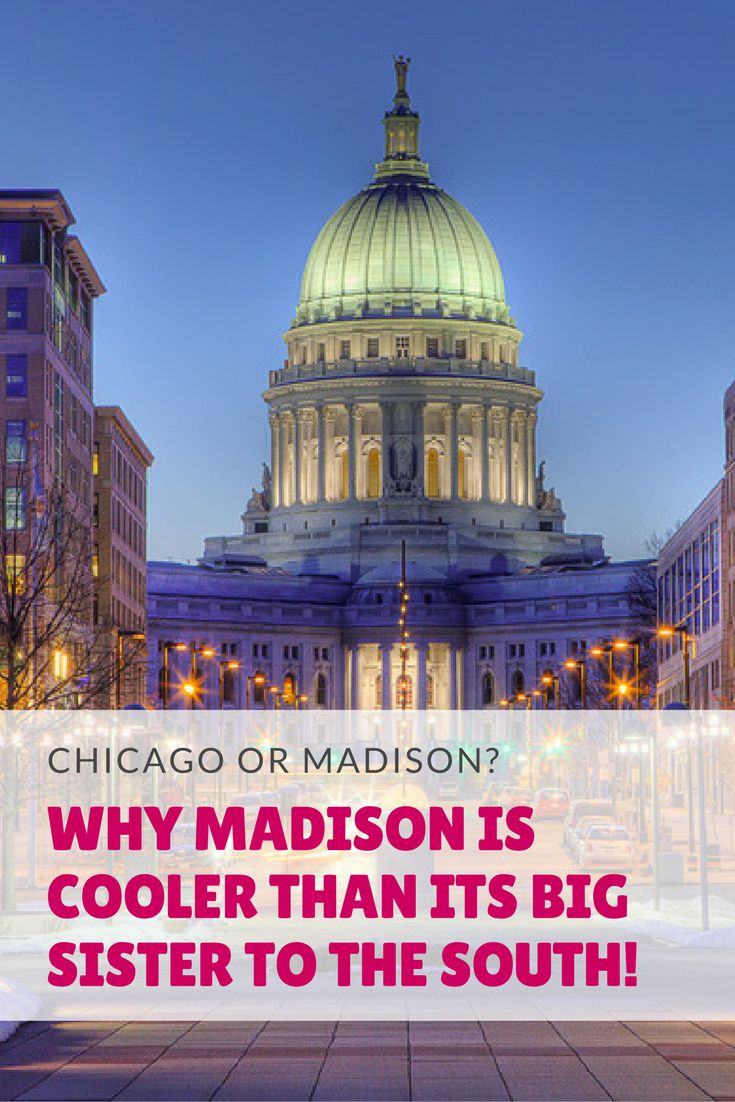 Why choose Madison? What's not to love about great museums, delicious food, a beautiful environment at a fraction of the cost a visit to Chicago runs? Check out all there is to do in Madison, Wisconsin.