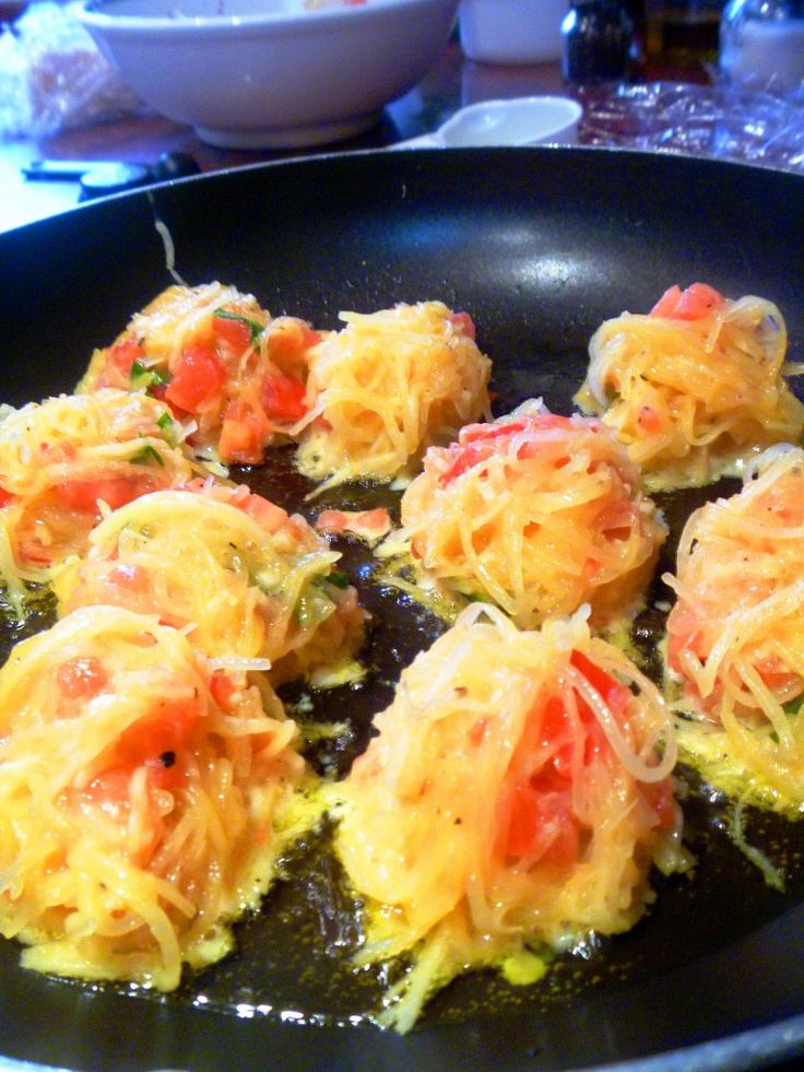 Spicy Spaghetti Squash Fritters | Healthy Recipe Ecstasy (HRx ...