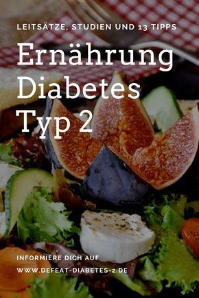 Ernährung Diabetes Typ 2: Leitsätze, Studien und 13 Tipps