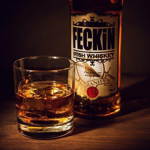 Feckin Irish Whiskey from Firebox.com