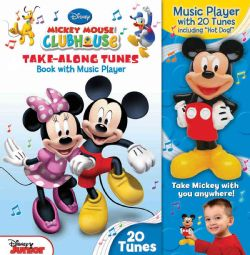 @Overstock.com - Disney Mickey Mouse Clubhouse Take-Along Tunes: Book With Music Player - Hot dog! Twenty portable tunes combined with Disney?s Mickey Mouse and all of his friends mean hours of musical fun for clubhouse fans.Packed with Mickey Mouse Clubhouse fun, this book features four fun sections of song lyrics: Action S...  http://www.overstock.com/Books-Movies-Music-Games/Disney-Mickey-Mouse-Clubhouse-Take-Along-Tunes-Book-With-Music-Player/7011970/product.html?CID=214117 $17.09