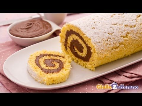 Nutella Swiss Roll Recipe Nutella is the original and wonderful chocolate hazelnut spread.  Everybody loves Nutella and they are sure to love this classic alternative to the traditional Swiss Roll.   Hope you enjoy! CHECK OUT OUR WEBSITE FOR MORE GREAT STUFF! We Love Ya, Dominic & Frank #EverybodyLovesItalian www.EverybodyLovesItalian.com