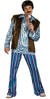 Adult Sonny Costume, Sonny and Cher Costumes