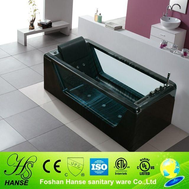 Hs-bc607 акриловая прозрачная ванна, джакузи ванна в помещении, современные цветные ванна-вВанны и гидромассажные ванны из Ванная комната на m.russian.alibaba.com.