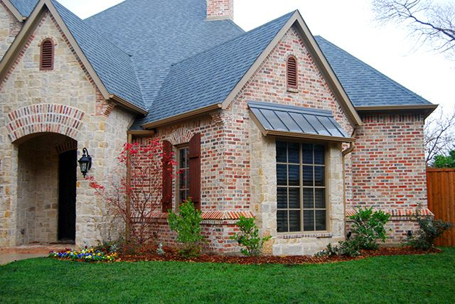 8 best images about outdoor trim on pinterest indigo for Brick selection for houses