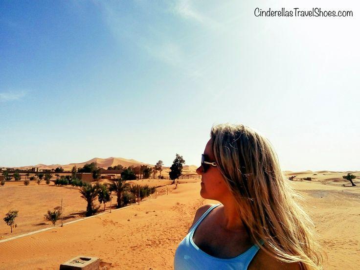 Me in Merzouga, in Sahara Desert in Morocco