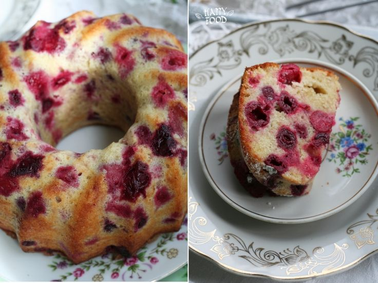 Венский пирог с вишней