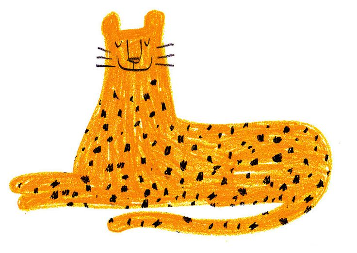 Leopard : Character illustration by Dermot Flynn ::: http://www.dutchuncle.co.uk/dermot-flynn-images