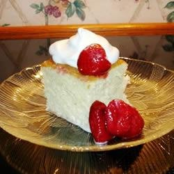 Tres Leches Cake   The three milks in this egg rich Mexican cake are used to macerate and frost this high, single-layer cake decorated with Maraschino cherries.