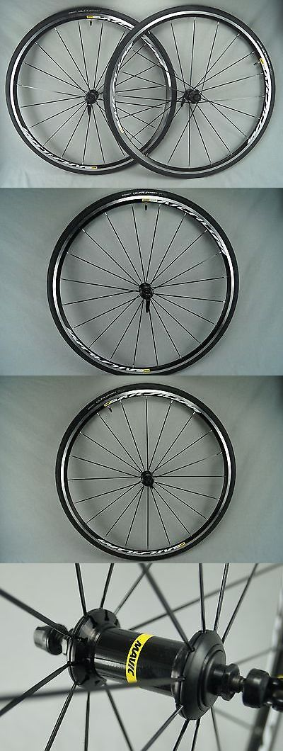 Wheels and Wheelsets 177830: New Mavic Aksium Road Wheelset 11/10 Spd 700C W/ Continental 25C Tires Wheels -> BUY IT NOW ONLY: $175 on eBay!
