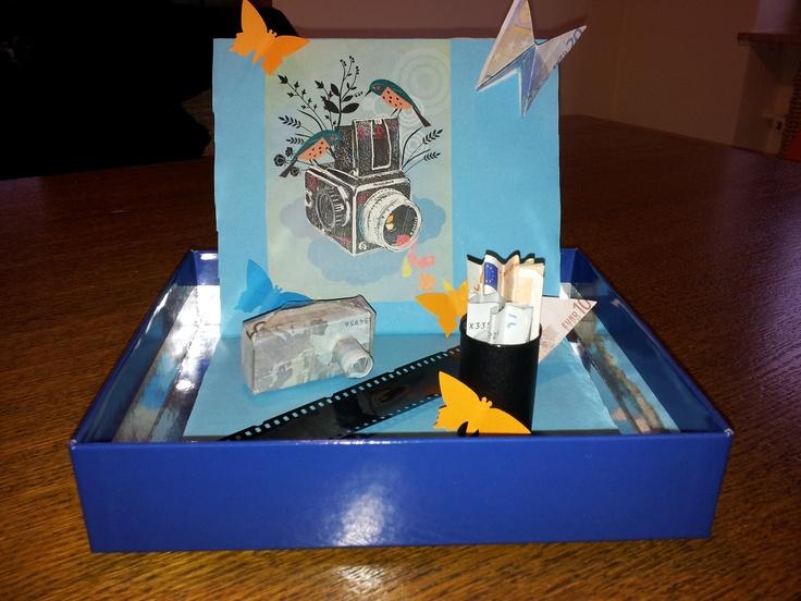 geldgeschenk fuer eine kamera geld geschenkideen