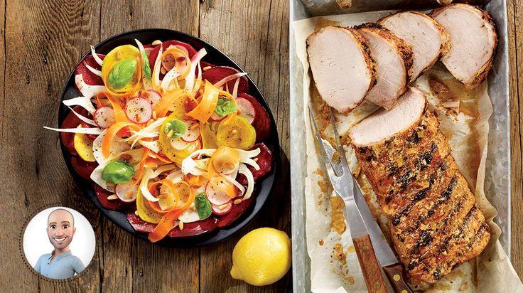 Longe de porc barbecue à la cubaine