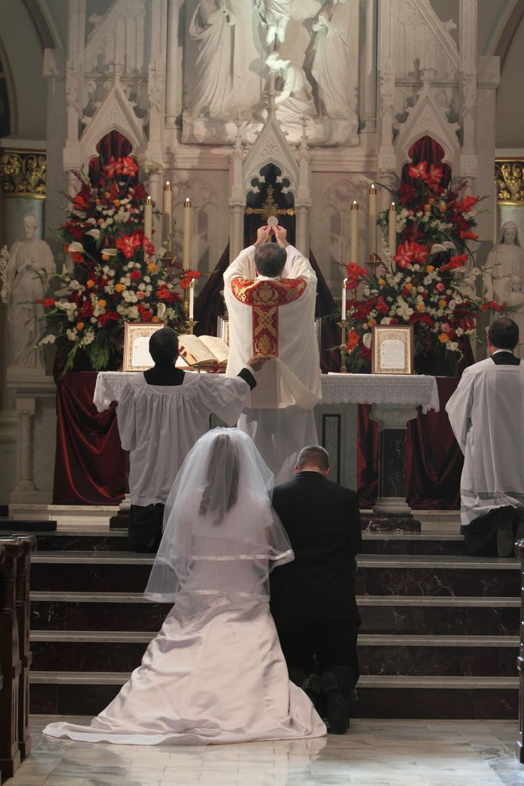 Introibo Ad Altare Dei Deum Qui Laetificat Juventutem Meum Catholic MarriageCatholic MassCatholic WeddingRoman